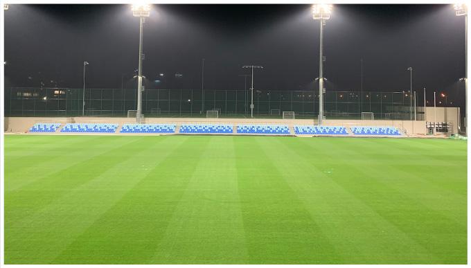 国内首块草坪地暖足球场在大连青训基地投入运行