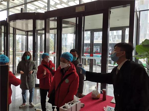 金沙酒店全力服务驰援武汉医疗团队