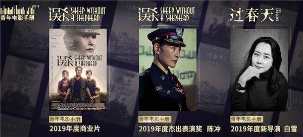 万达影视两部电影获青年电影手册三项荣誉