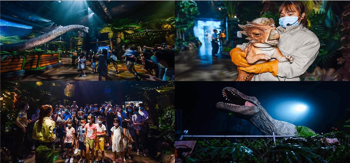影视集团《侏罗纪世界电影特展》正式对公众开放