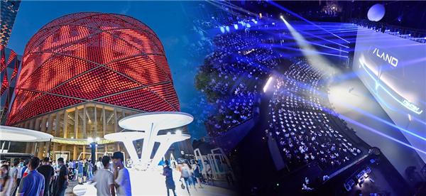 汉秀剧场举办东风全新品牌全球发布会