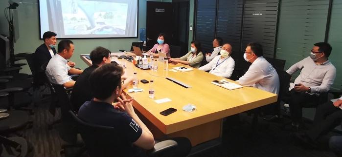 文旅院与HTC交流VR技术的文旅项目应用