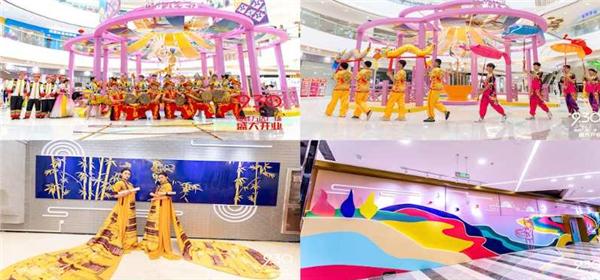 桂林臨桂萬達廣場打造民俗風情打卡地
