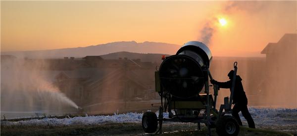 長白山國際度假區啟動造雪迎接新雪季