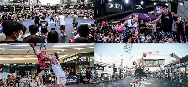 厦门7座欧宝首存豪礼广场联合安踏举办人气篮球赛