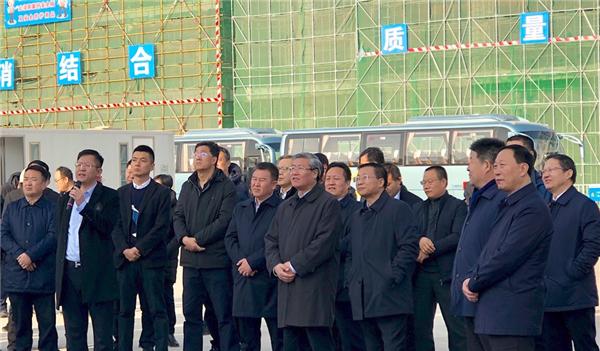 甘肃省委常委、兰州市委书记李荣灿带队考察兰州万达城建设情况