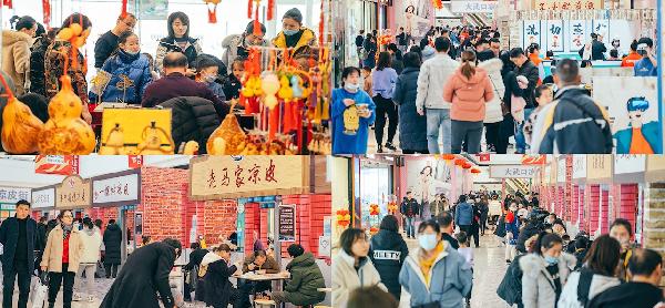 宁夏石嘴山万达广场举办特色凉皮节