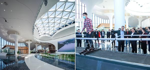肇庆万达国家度假区展示中心启用 最新科技模拟特色体验