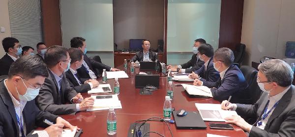 投资集团召开学习王健林董事长年会讲话专题会