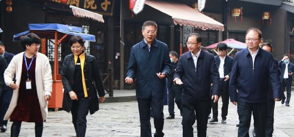 贵州省副省长李睿调研考察丹寨万达小镇