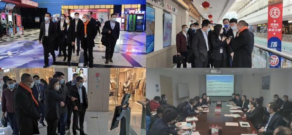 信息科技中心与石景山万达广场建立交流机制探索创新科技应用