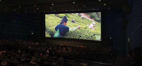 万达丹寨茶园公益广告登陆全国899家影院