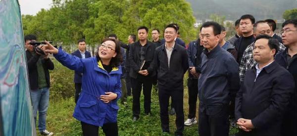 王健林董事长调研考察贵州省铜仁市和江口县