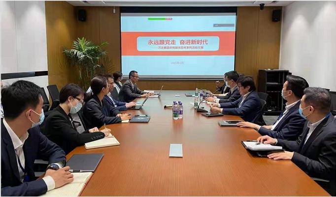 新莆京手机版庆祝建党百年系列活动全面启动