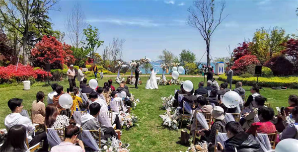 酒管婚宴业务五一期间同比2019年增长200%