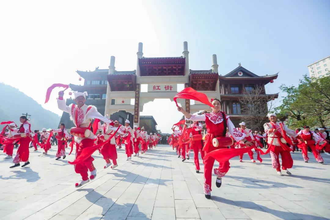 创新红色旅游模式 打造红色旅游品牌 延安红街精彩开业
