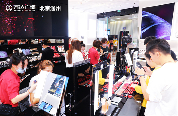商管北區持續提升品牌級次 北京通州萬達引入迪奧彩妝