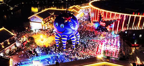 延安紅街開街首月客流超200萬人次