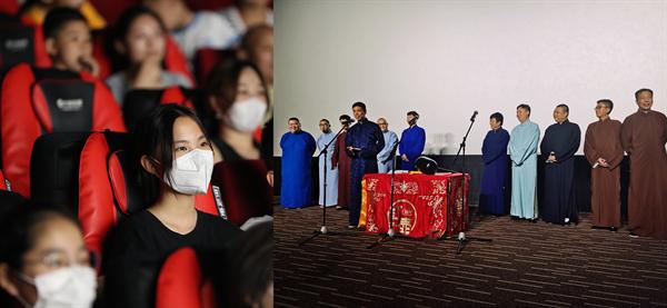 北京通州万达影城创新开设相声表演专场