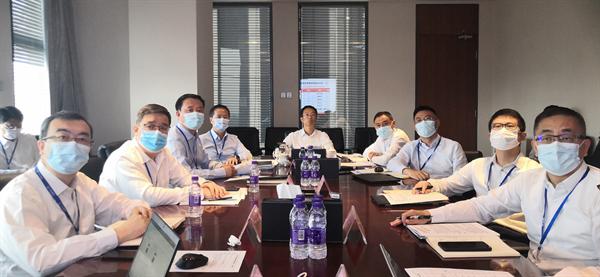 投资集团召开7月经营月度考核会