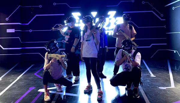 长春红旗街万达广场引入吉林省首个VR互动娱乐项目