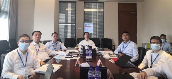 投資集團召開8月經營月度考核會