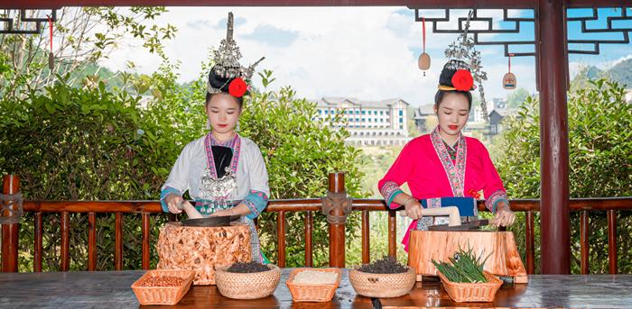 """丹寨万达小镇新增""""瑶族油茶""""国家级非遗体验项目"""