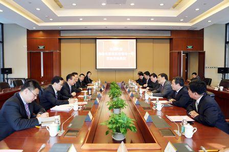王健林董事长会见十堰市政府领导一行