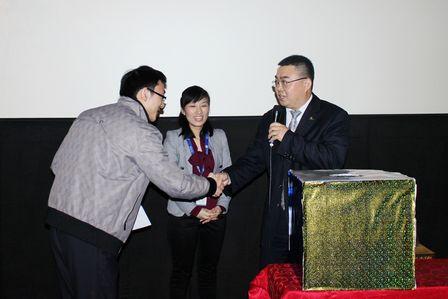 南寧萬達影城舉行2013年大客戶新春答謝會