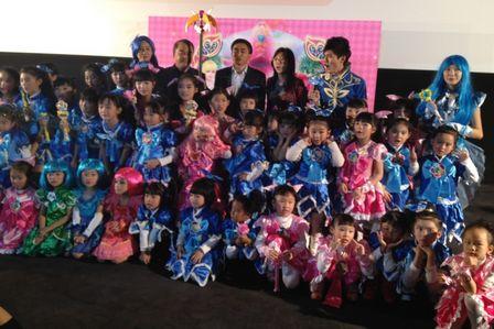 廣州萬達影城舉辦影片《巴啦啦小魔仙》媒體發布會