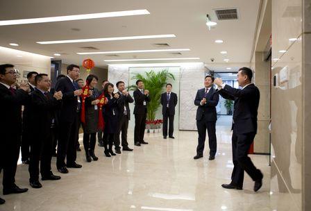 王健林董事長與集團領導向員工拜年