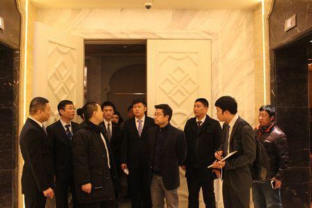 寧奇峰副總裁赴長沙萬達文化酒店檢查指導工作