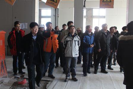 副總裁寧奇峰赴長白山檢查指導工作