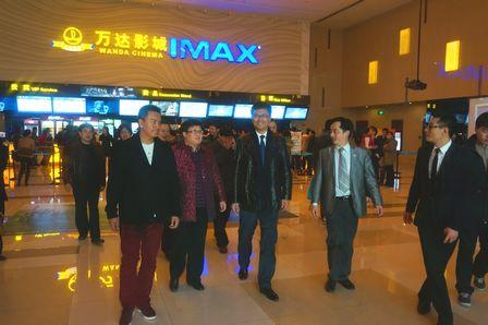 上海市寶山區區長視察寶山萬達廣場