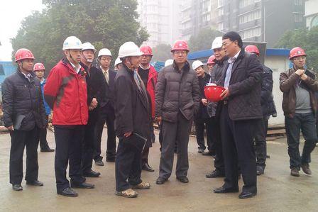 孫繼泉副總裁赴武漢文化項目檢查指導工作