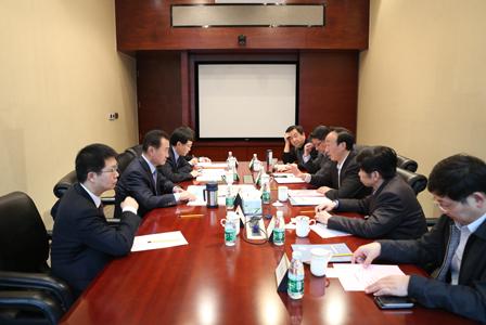 王健林董事長會見常州市委市政府領導一行