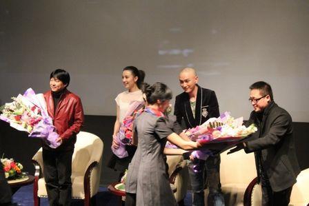哈爾濱萬達影城香坊店舉行影片《蕭紅》首映式
