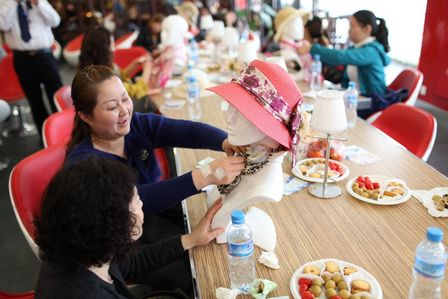 上海寶山萬達百貨舉辦春季會員沙龍