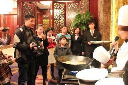 鎮江萬達喜來登酒店第一屆江鮮美食節開幕