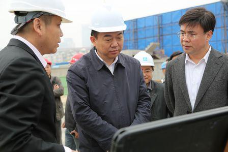 武漢市領導赴武漢中央文化區檢查指導工作