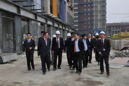 副總裁曲曉東赴無錫項目檢查指導工作