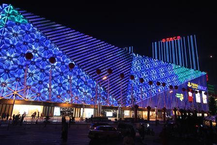 大连高新万达广场开业 成为高新区新城市中心