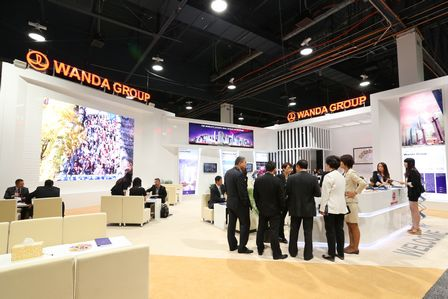 萬達集團精彩亮相全球商業地產博覽會