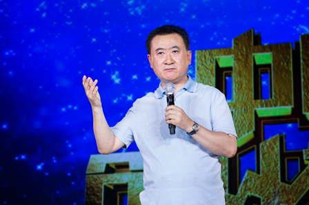 王健林出任央视《中国创业榜样》导师:贵在坚持 天道酬勤